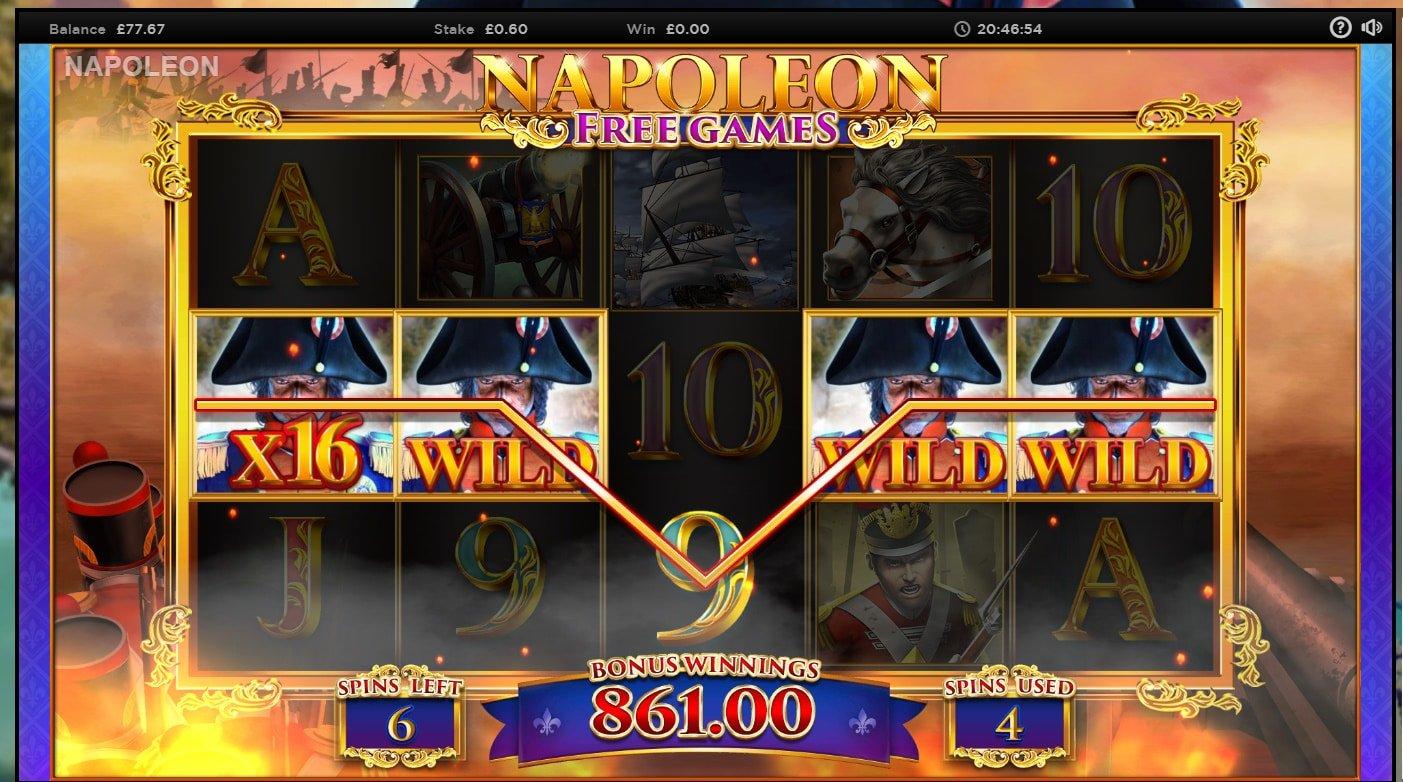 Napoleon Big win picture