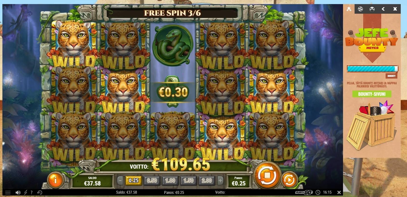 Rain Forest Magic Slot big win picture