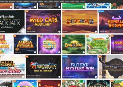 Betfair Arcade Casino Slots