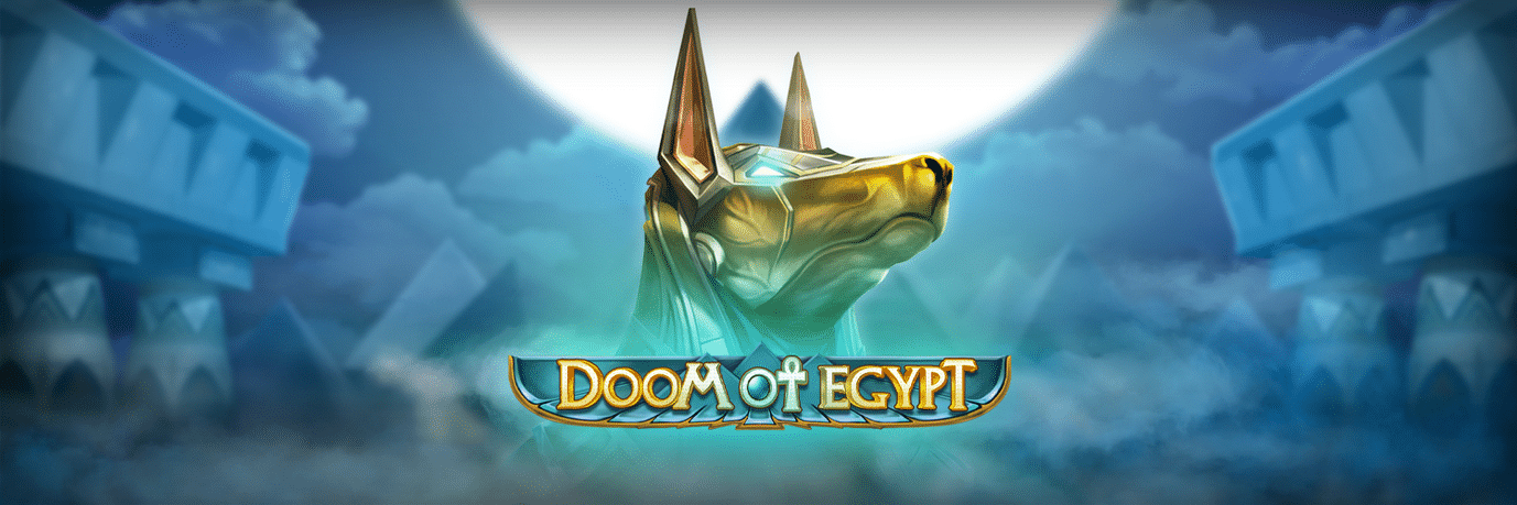 Doom of Egypt slot logo