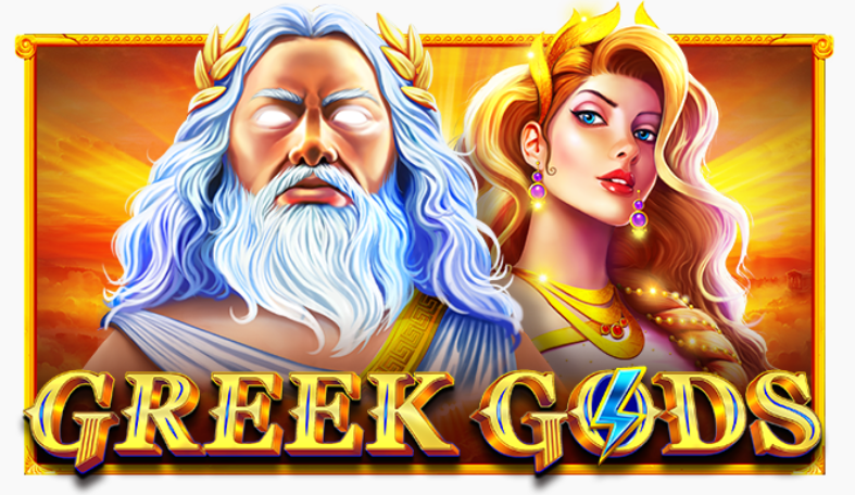 Greek Gods slot logo