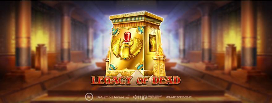 Legazy of Dead slot logo