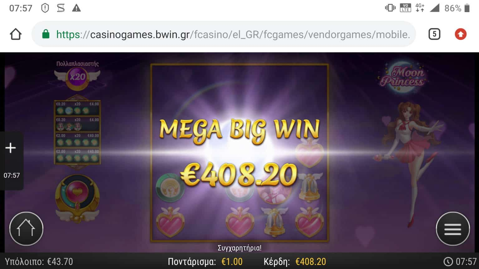 Moon Princess Big Win Picture