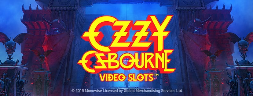 Ozzy Osbourne Video Slot Banner