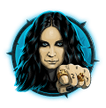 Ozzy Osbourne Video Slot Blue Ozzy Symbol