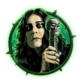 Ozzy Osbourne Video Slot Green Ozzy Symbol