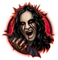 Ozzy Osbourne Video Slot Red Ozzy Symbol