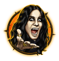 Ozzy Osbourne Video Slot Yellow Ozzy Symbol