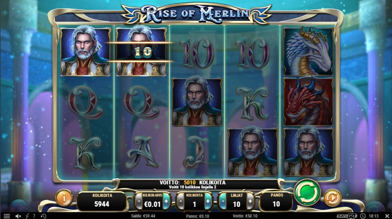 Rise Of Merlin Big Win Picture