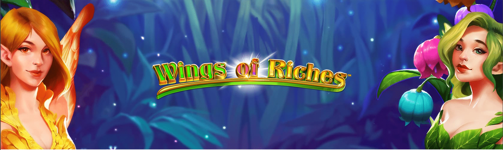 Wings of Riches slot logo