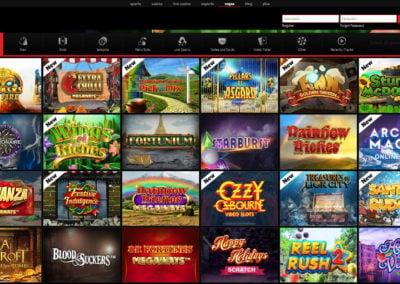 Betway Vegas Slots Lobby