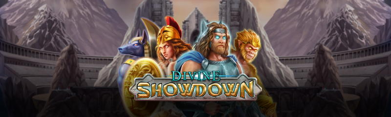 Divine Showdown Slot Main Banner