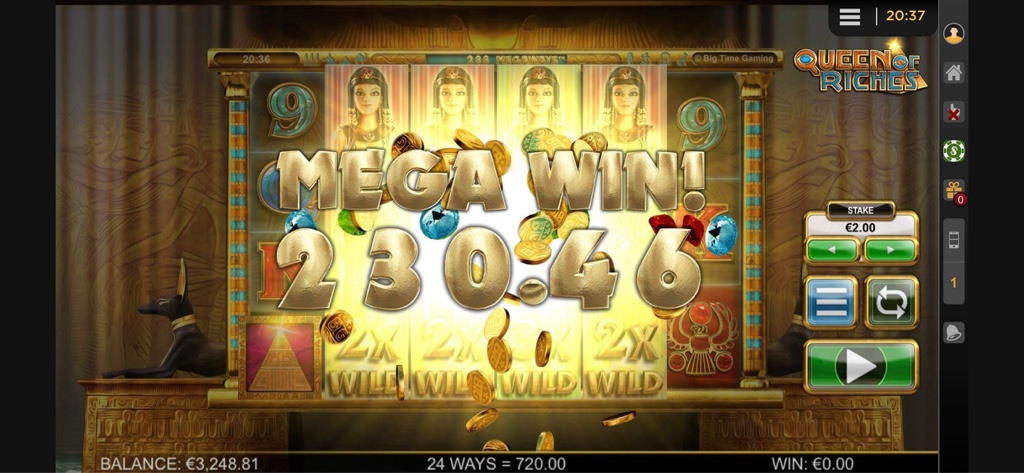 Queen of Riches Big Win Picture By Jaakko11