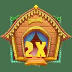 The Dog House 2x Wild Symbol