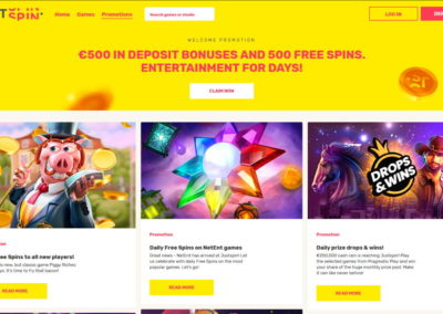 JustSpin Casino Promotions