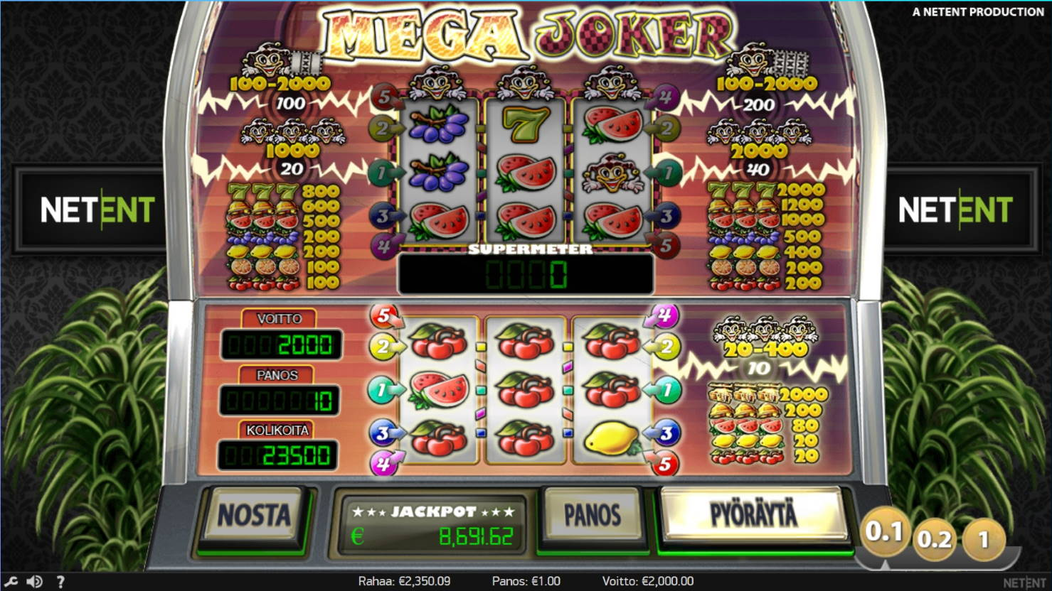 Mega Joker Big Win Picture By Steppeni