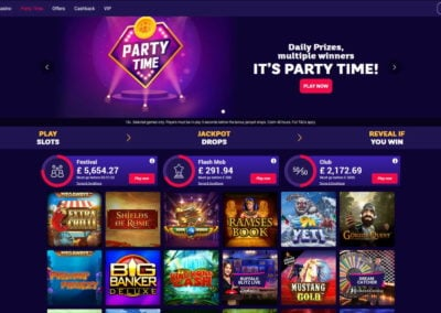 Partycasino Party Time Promotion