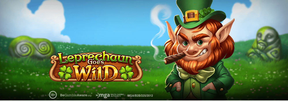 leprechaun goes wild slot logo