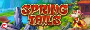 spring tails slot logo