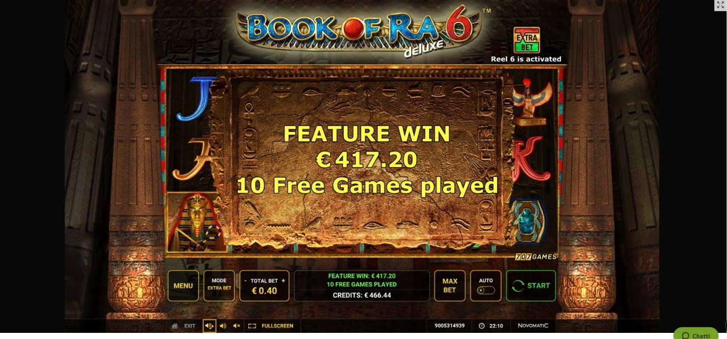 Book of Ra 6 Big win picture by fujilwyn