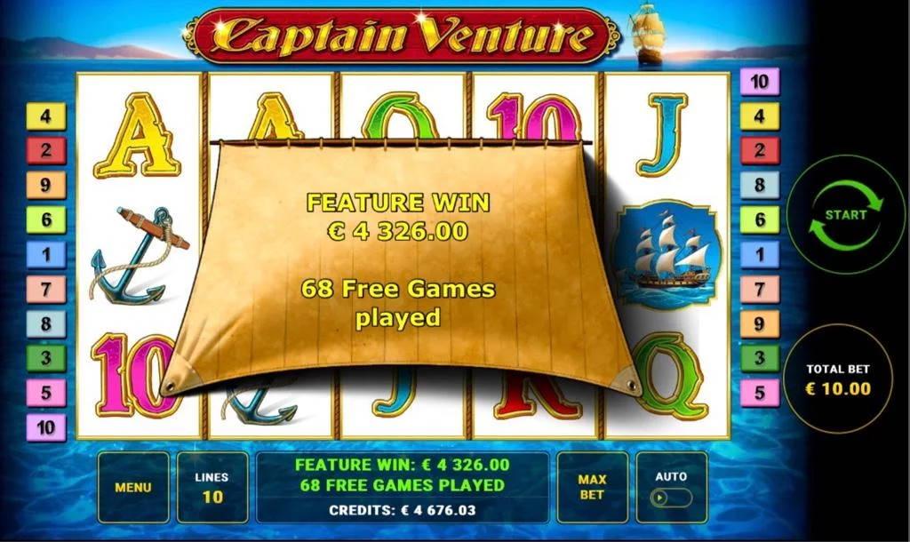 Captain Venture Big win picture by Jaakko11