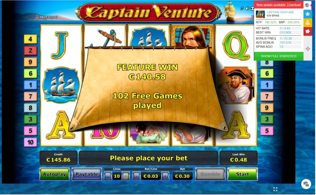 Captain Venture Big win picture by viljo98