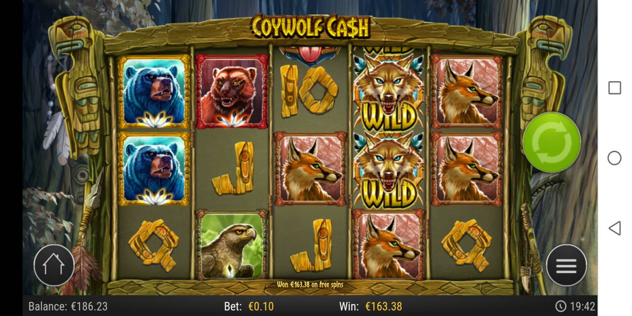 Coywolf Cash Big win picture by Slowviking88