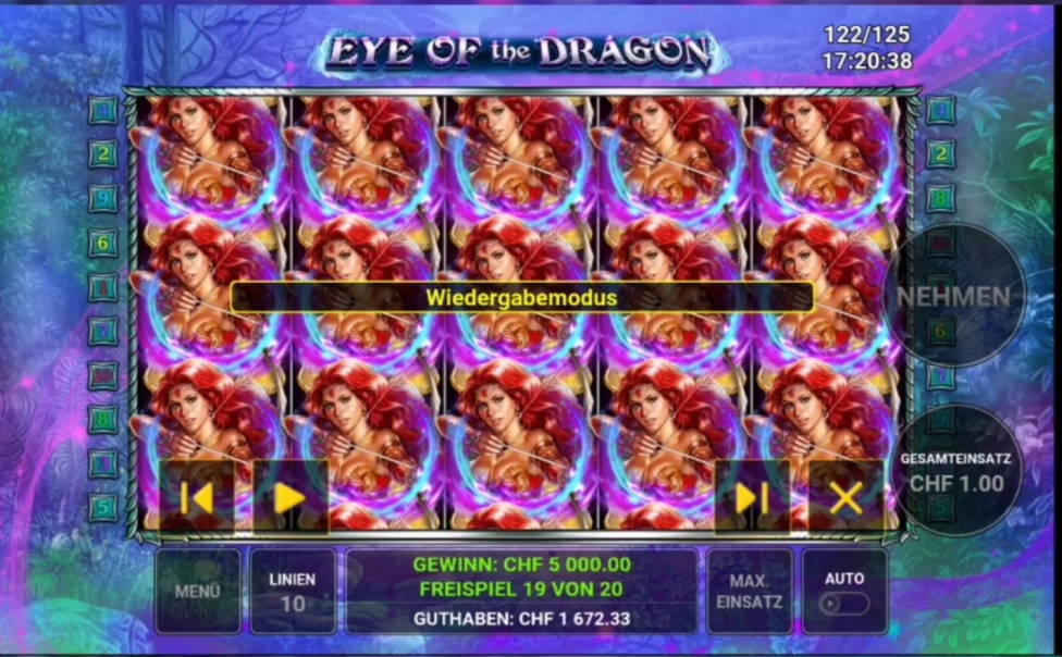 Eye of the Dragon Big win picture by Technoman92