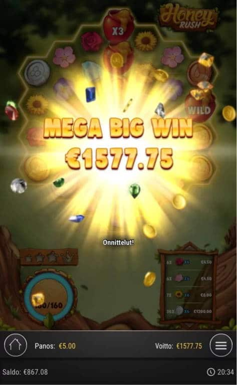 Honey Rush Big win picture2 by Jaakko11