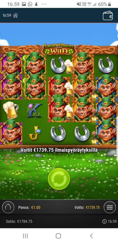 Leprechaun goes wild Big win picture by ShovelHero