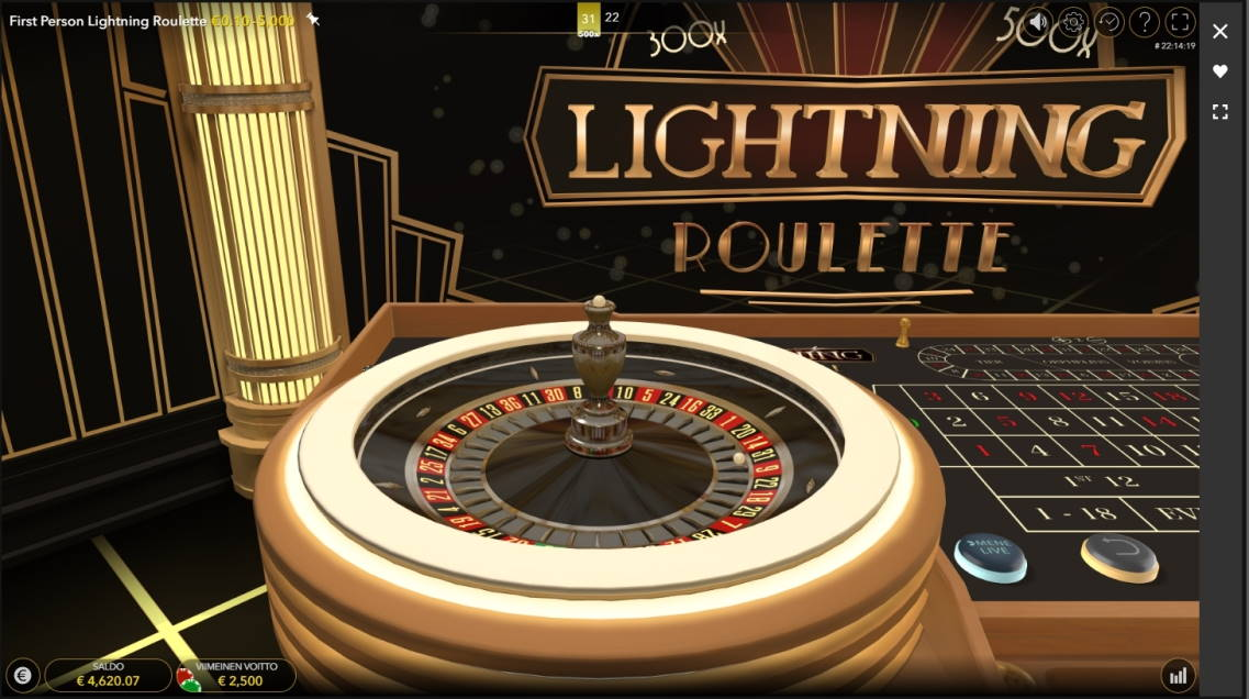 Lightning Roulette Big win picture by Wilho