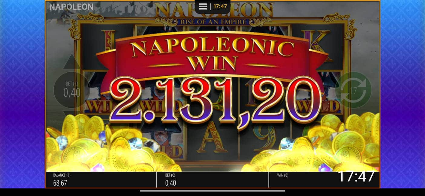 Napoleon Big win picture by viljamiv