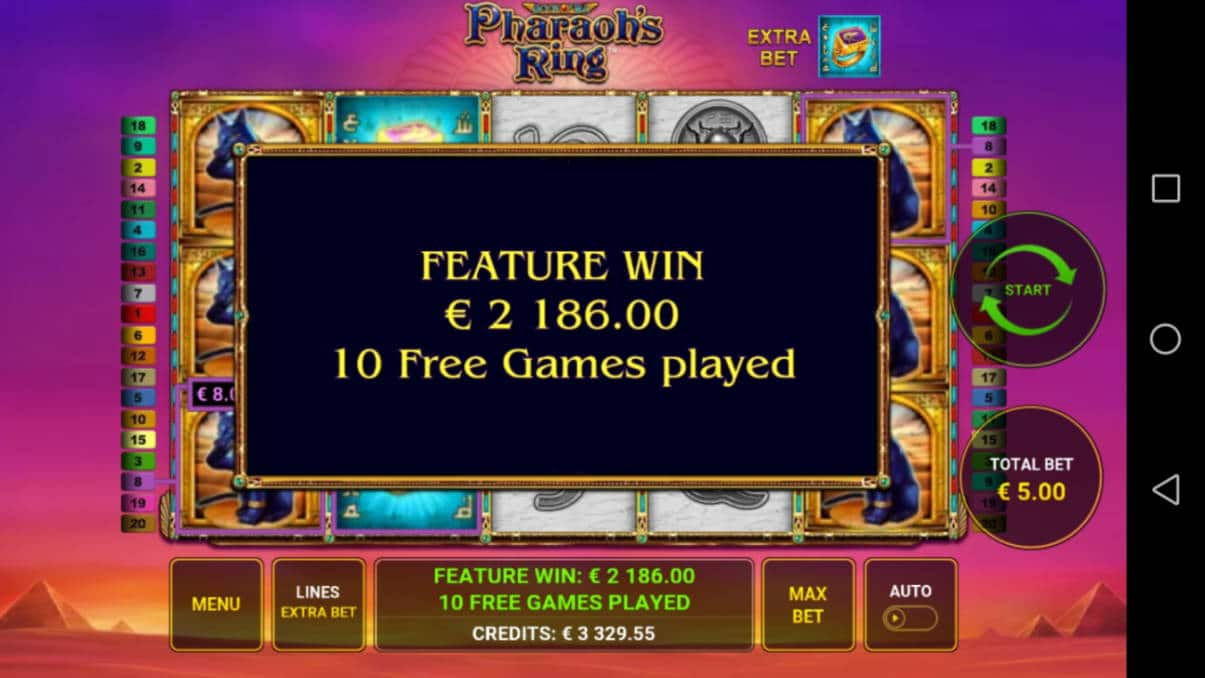Pharaoh´s Ring Big win picture by Jyrkkenkloppi