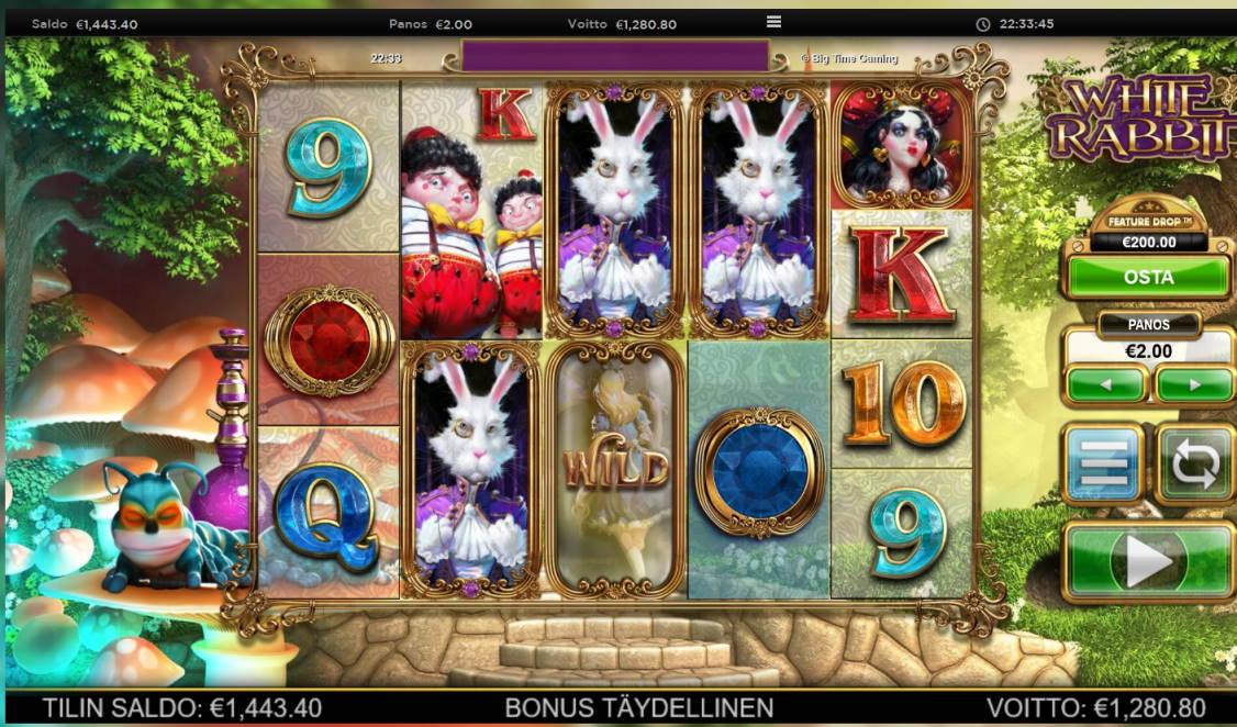White Rabbit Big win picture by Klaspetterniklas