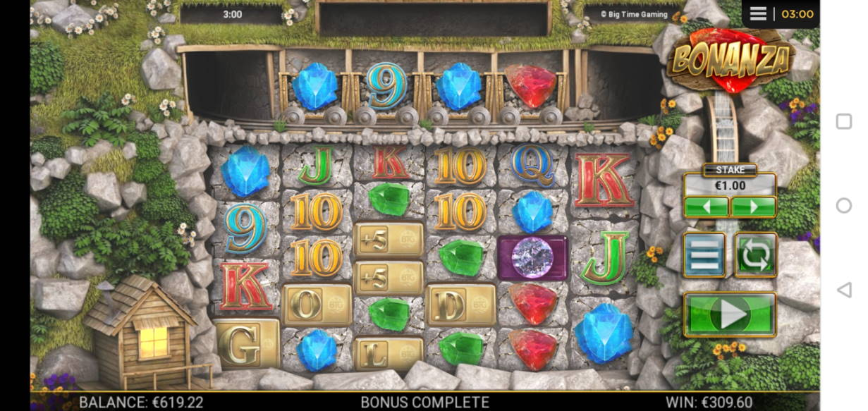 Bonanza Big win picture Miksuysikuus 14.1.2020 309.60e 310X