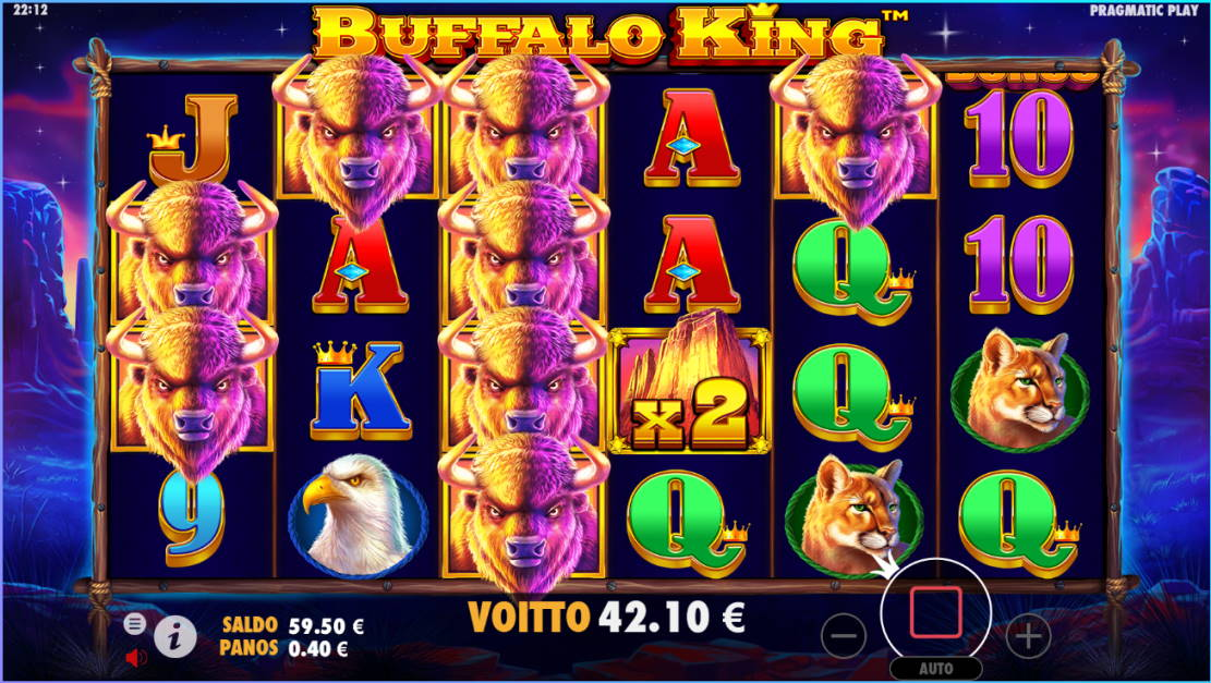 Buffalo King Big win picture by SomebodyCamper 16.2.2020 42.10e 105X