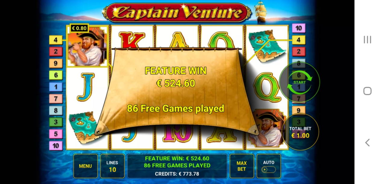 Captain Ventura Big win picture by janpeli 4.1.2020 524.60e 525X