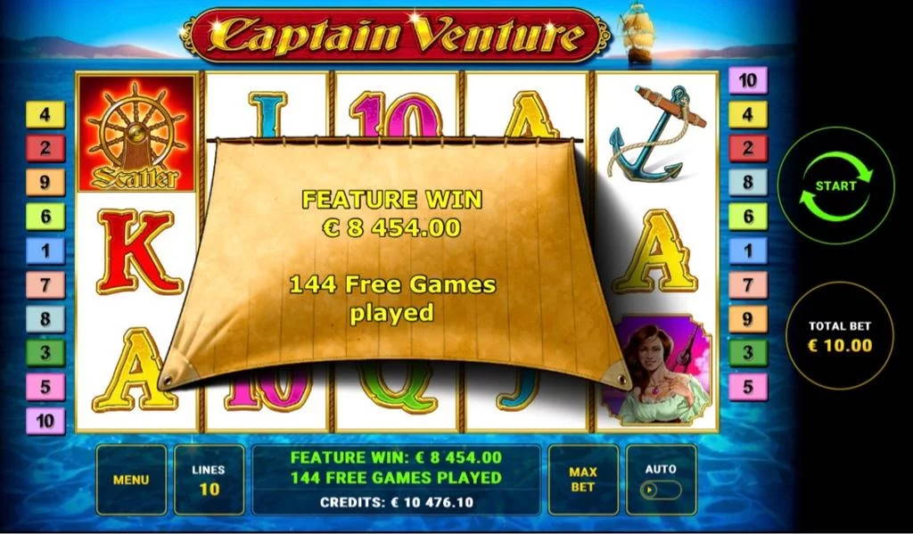 Captain Venture Big win picture by Jaakko11 23.3.2020 8454e 845X