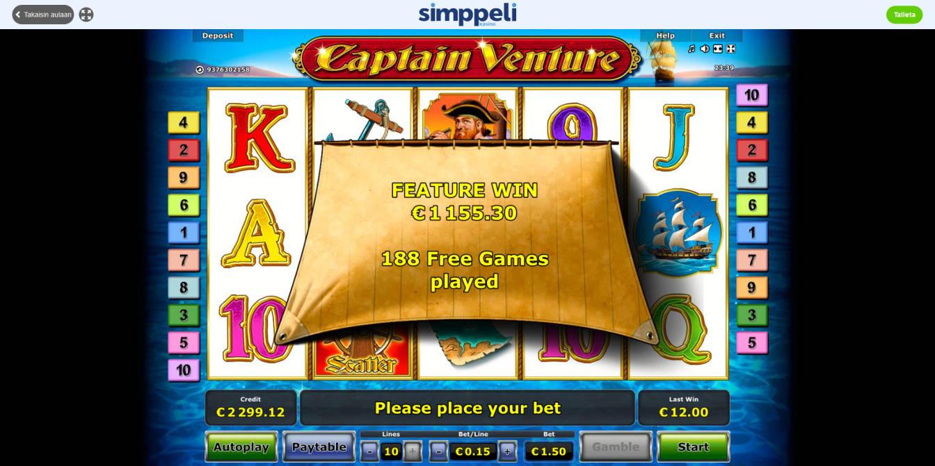 Captain Venture Big win picture by Peltsu