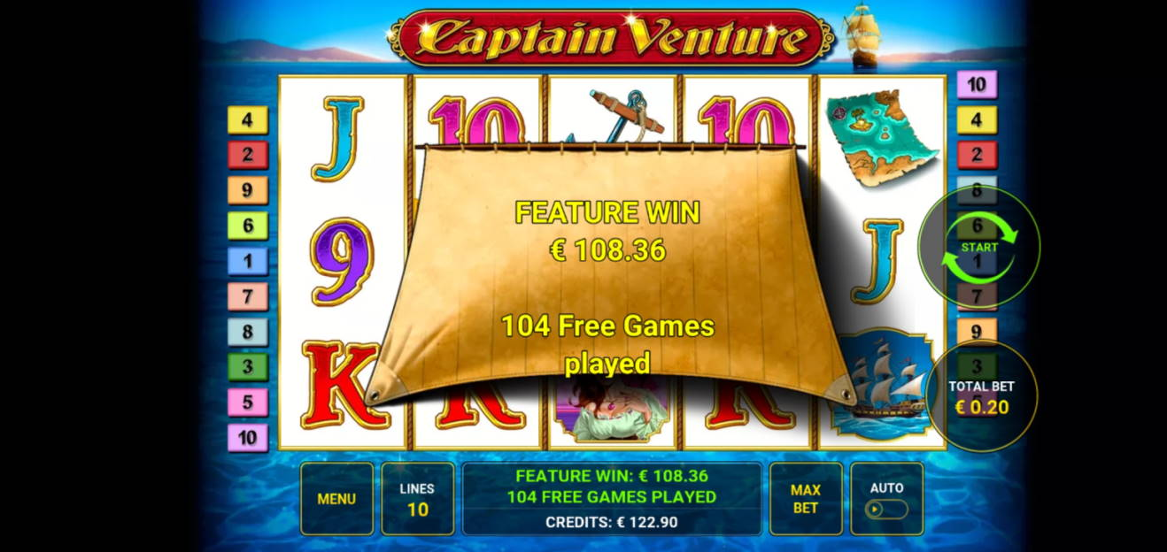 Captain Venture Big win picture by dj_niemi 17.1.2020 108.36e 542X