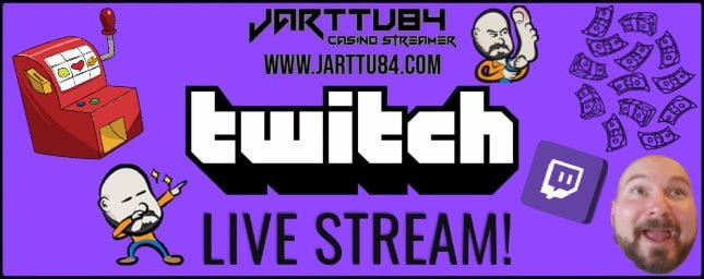 Casino Live Stream By Jarttu84 Banner