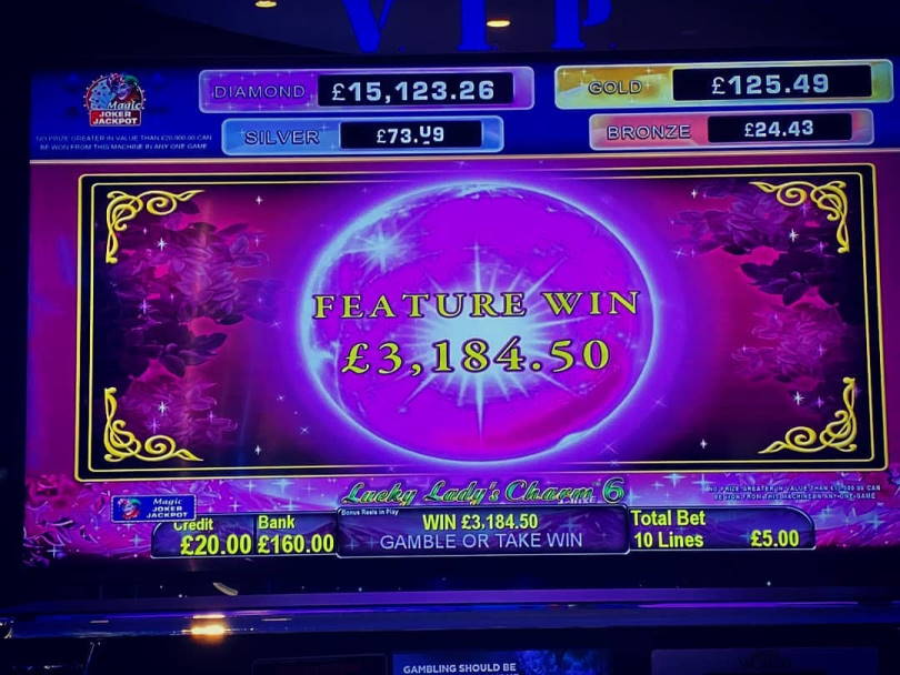 Lucky Ladys Charm 6 Big win picture by jarttu84 8.2.2020 3184.50e 637X