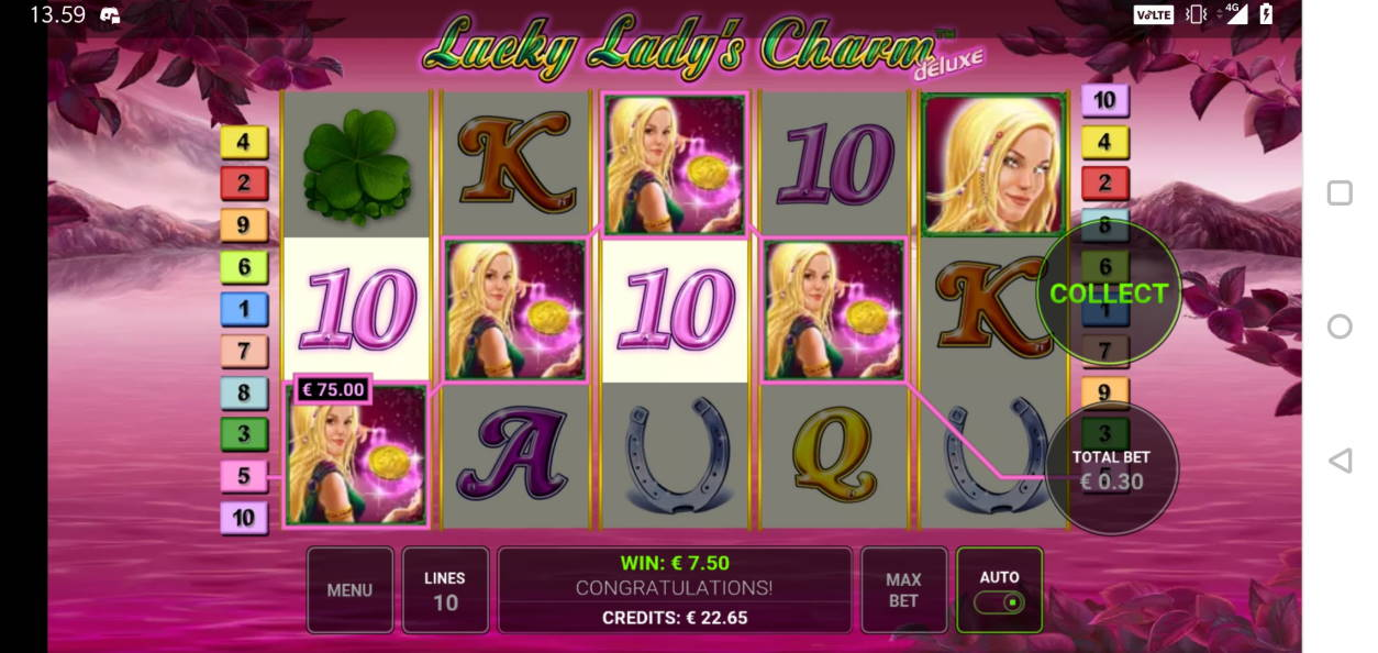 Lucky Ladys Charm Big win picture by Miksuysikuus 9.1.2020 75e 250X