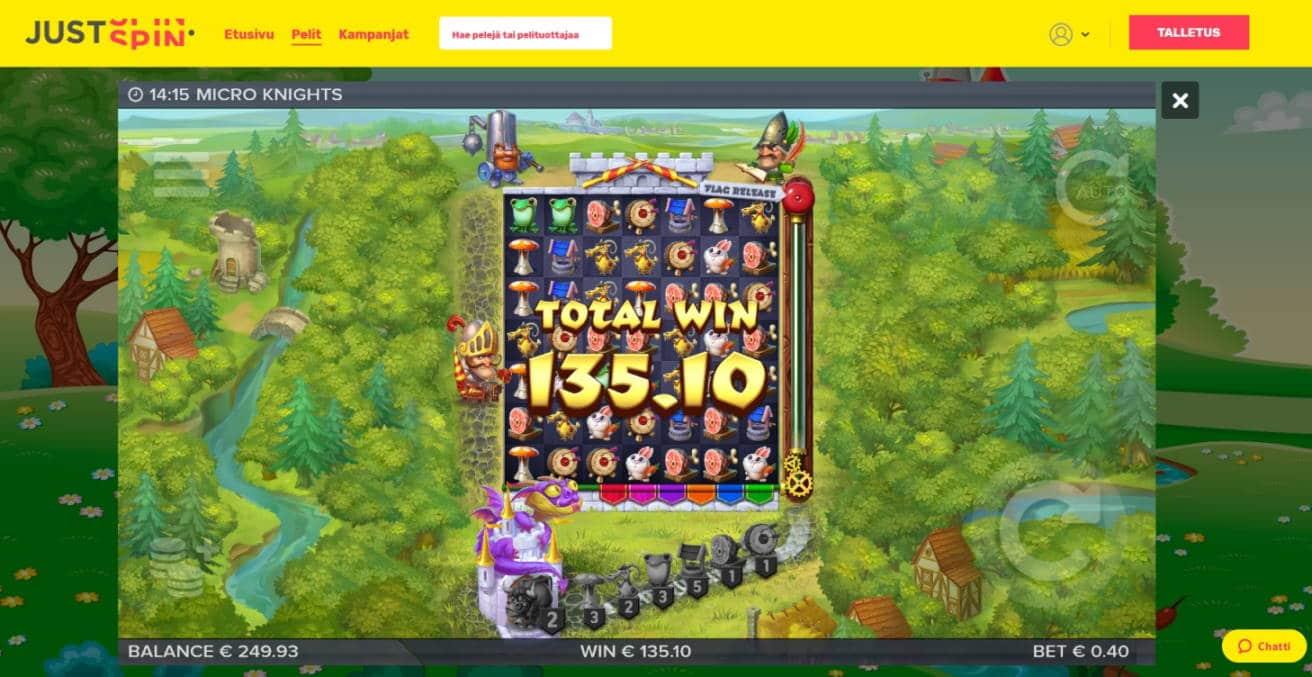 Micro Knights Big win picture by Mrmork666