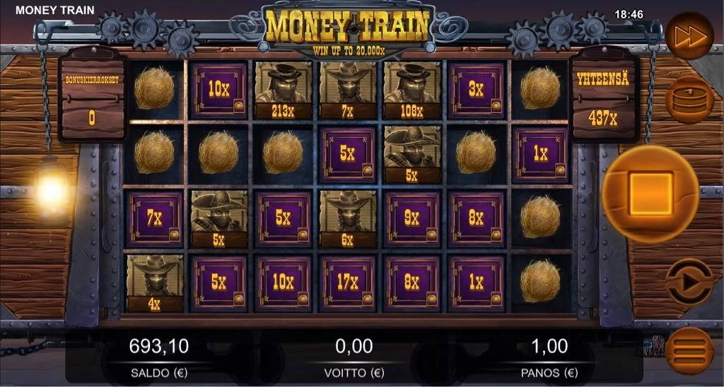 Money Train Big win picture by Jaakko11 8.3.2020 437e 437X