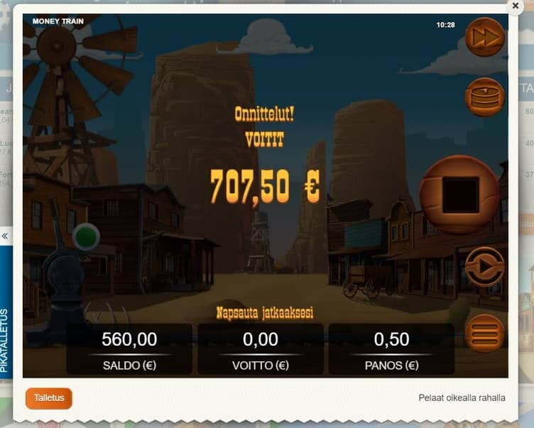 Money Train Big win picture by Jommppa 9.1.2020 560e 1120X Suomi Automaatti