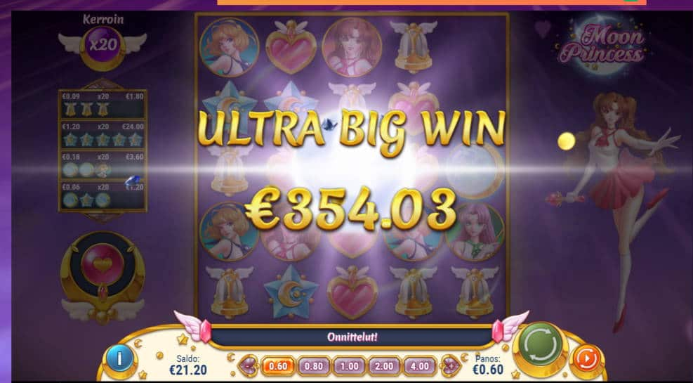 Moon Princess Big win picture by henrimikaell 20.2.2020 354.03e 590X Leo Vegas