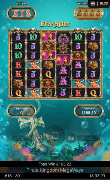 Pirate Kingdom Big win picture by Jaakko11 8.3.2020 888.50e 889X
