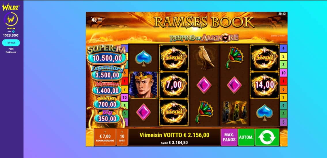 Ramses Book Big win picture by Steppeni 17.1.2020 2156e 308X Wildz