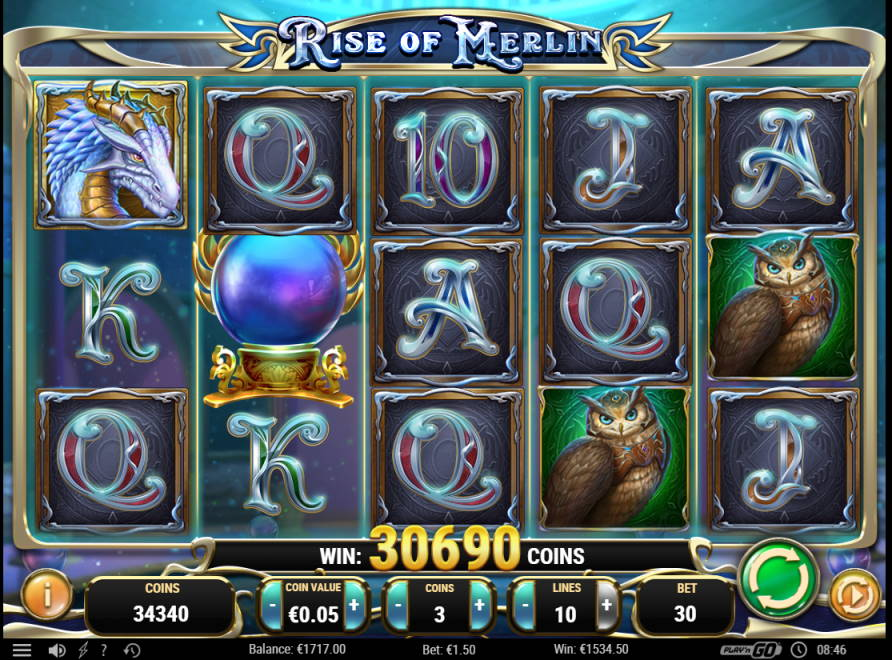Rise of Merlin Big win picture by Morrimoykky 18.1.2020 1534.50e 1023X